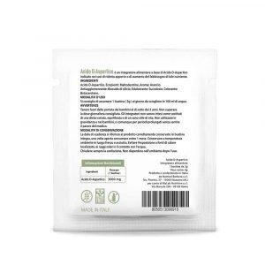 D-Acido Aspartico in bustine